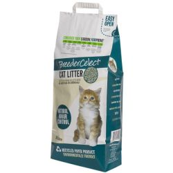 Breedercelect Kattenbakvulling 100 Procent Recycled Kattenbakvulling 10 l