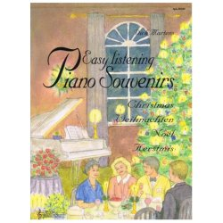 Reba Productions Easy Listening Piano Souvenirs Kerstmis