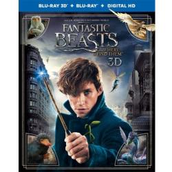 Fantastic Beasts and Where to Find Them (3D Blu ray)