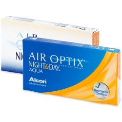 Air Optix Night and Day Aqua (3 lenzen)