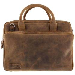 Plevier Pull Up Leather Documententas 15 bruin