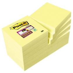 Post it Plaknotitie 7100045784 48 mm x 48 mm Geel 1080 vellen