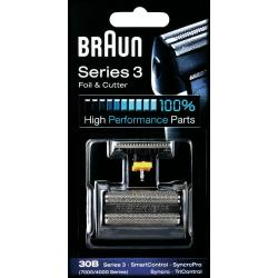 Braun 30B Scheerblad en trimmer Zwart 1 set(s)