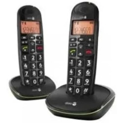 Doro Phone Easy 100W Duo Big Button Telefoon Zwart