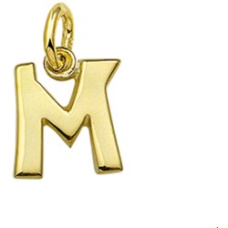 The Jewelry Collection Hanger Letter M Geelgoud