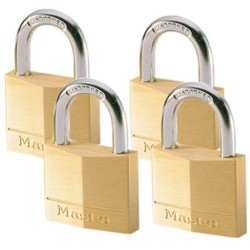 4 x 40mm padlocks ref. 140EURD keyed alike padlocks (buy 3 get 1 FRE