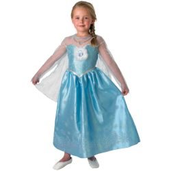 Frozen Elsa Kostuum Deluxe Child Maat 134