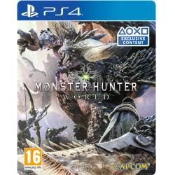 PS4 Jeu Monster Hunter World pour PlayStation 4 (édition standard)
