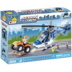 Cobi Action Town Police Copter (1563)