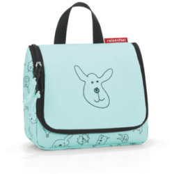 reisenthel ® toiletbag S kids cats and dogs mint Turquoise