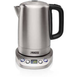 Princess 236002 Kettle Powerfull And Programmable Waterkoker 1 7 L