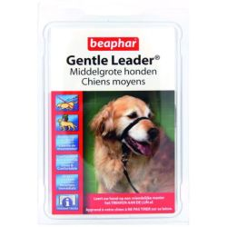 Beaphar Gentle Leader Zwart Hondenopvoeding Medium Middel