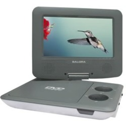 Salora SA Portable 7 DVD USB SD DVP7009SW