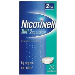 Nicotinell zuigtablet mint
