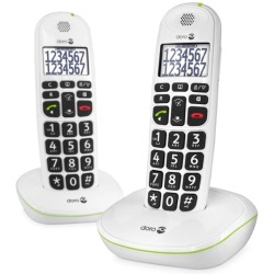 Blue Lagoon Doro Phone Easy 110 Duo Big Button Care Dect Telefoon Wit