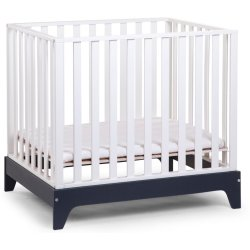 CHILDWOOD Box 96 BEUK WIT FRAME NAVY BLUE 75x95