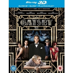 The Great Gatsby (3D) (3D 2D Blu ray)