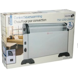 Intertek Interior Deluxe Convectieverwarming 2000 W.