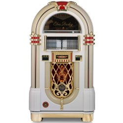 Ricatech Elvis Presley LE 60 jarig Jubileum RnR jukebox (wit)