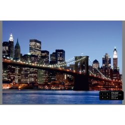 Dutch Wallcoverings Fotobehang Brooklyn Bridge 4 d