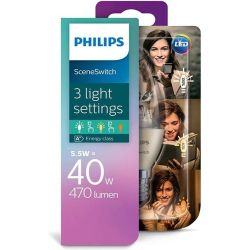 Philips SceneSwitch LED lamp E14 Kaars 5.5 W 40 W Warmwit 1 stuk(s) Philips Lighting SceneSwitch 8718696598474