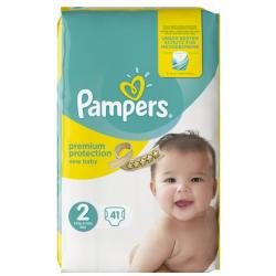 PAMPERS PREMIUM PROTECTION MID PACK S2 41ST