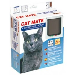 Cat Mate 4 way locking cat flap 235W Wit