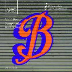 Orchestra Of The Age Of Enlightenme Cpe Bach Symphonies