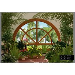 Dutch Wallcoverings Fotobehang Winter Garden 4 d