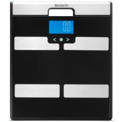Brabantia personenweegschaal digitaal body analysis black 481949