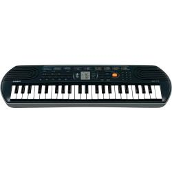 Casio SA 77 Keyboard Zwart