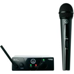 AKG WMS40Mini Vocal Set ISM2 Draadloze microfoonset Zendmethode Radiografisch
