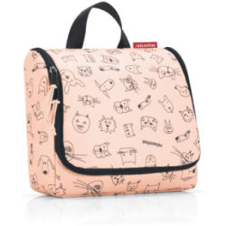 reisenthel ® toiletbag kids cats and dogs roze Oranje