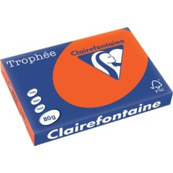 Clairefontaine Trophée Intens A3 kardinaalrood 80 g 500 vel