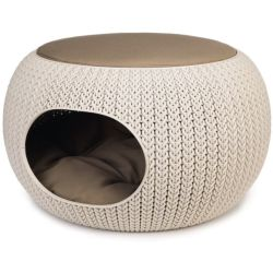 Curver cozy pet home creme 55