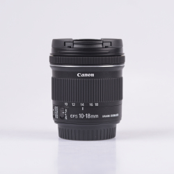 Canon efs 10 18mm f 4.5 5.6 is stm objectif