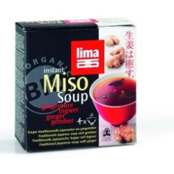 Lima Instant Miso Soup Gember