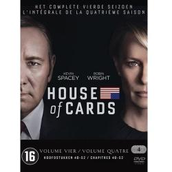 House Of Cards Seizoen 4 DVD