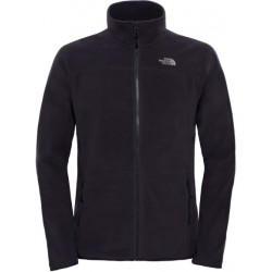 The North Face 100 Glacier Full Zip Vest Heren Tnf Black