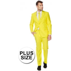 OppoSuits Yellow Fellow Kostuum Maat 54