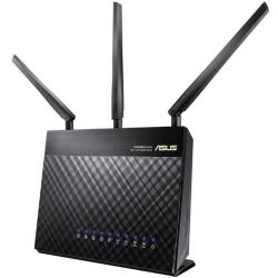 Asus RT AC68U WiFi router 2.4 GHz 5 GHz 1.9 Gbit s